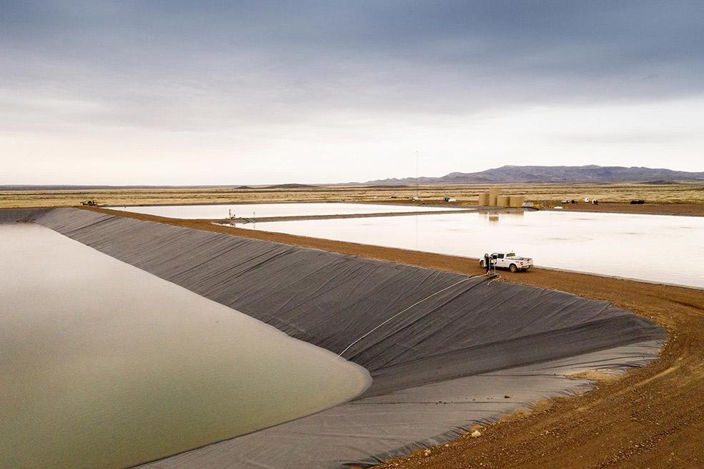 Ecological service reserve pit