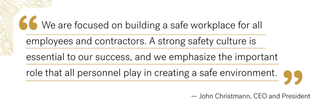 APA Health and Safety Quote